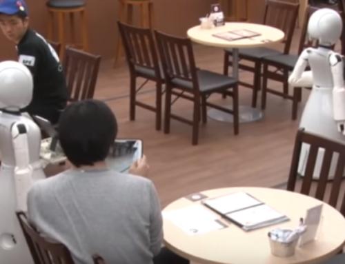 루게릭병 환자가 서비스하는 일본의 카페
